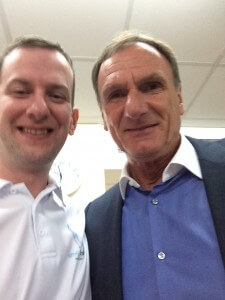 Aiden with Phil Thompson